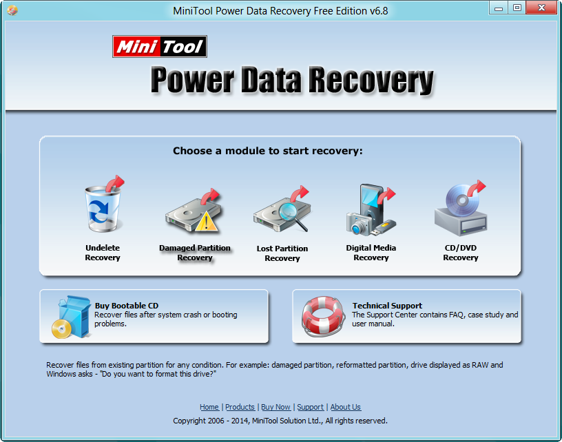 Download minitool power data recovery free edition 6. 8 – windows.