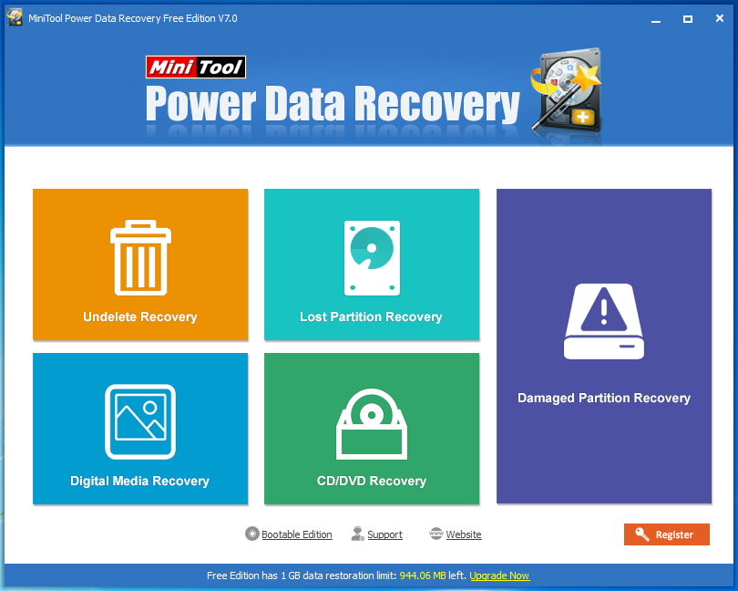 MiniTool Power Data Recovery Pro