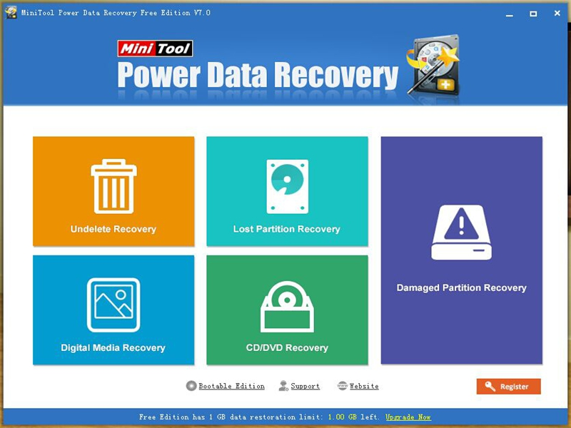 MiniTool Power Data Recovery Free Screen shot