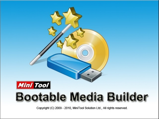 MiniTool Power Data Recovery Boot Disk Screenshot