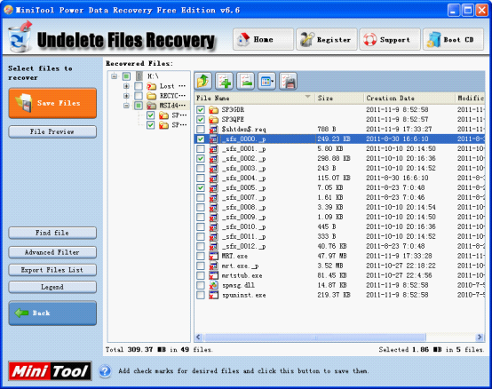 Recycle Bin Deleted File Recovery