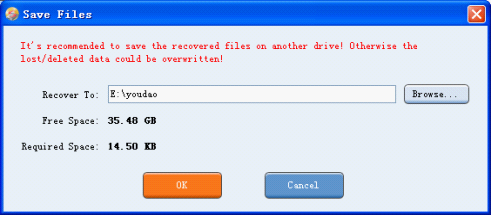 how to save large files to flash drive