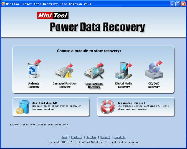 MiniTool Power Data Recovery simplifies data recovery work