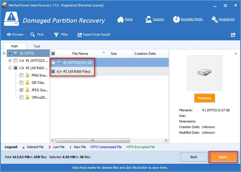 Recover data from VMware disk 7