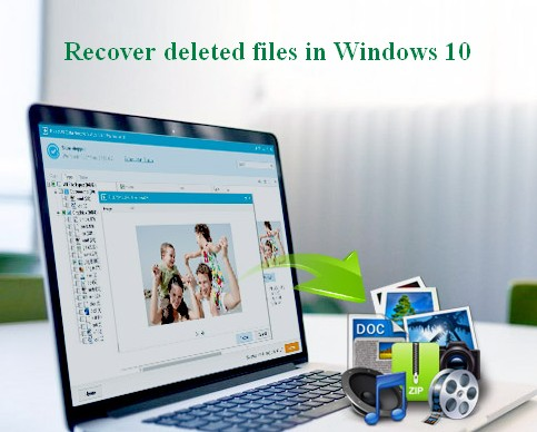 Recover deleted files Windows 10 1