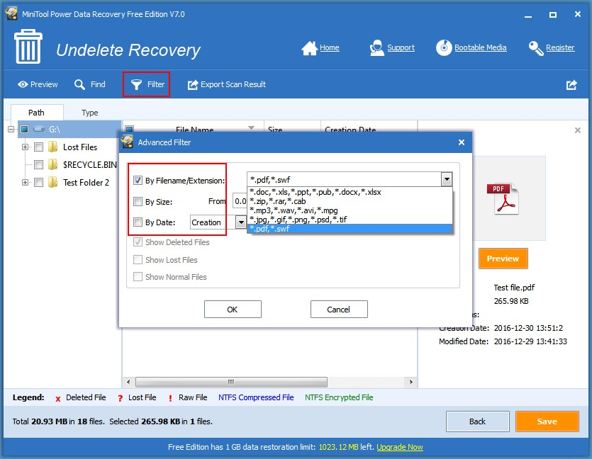 how to recover pdf file in different cases with free tool With pdf document recovery