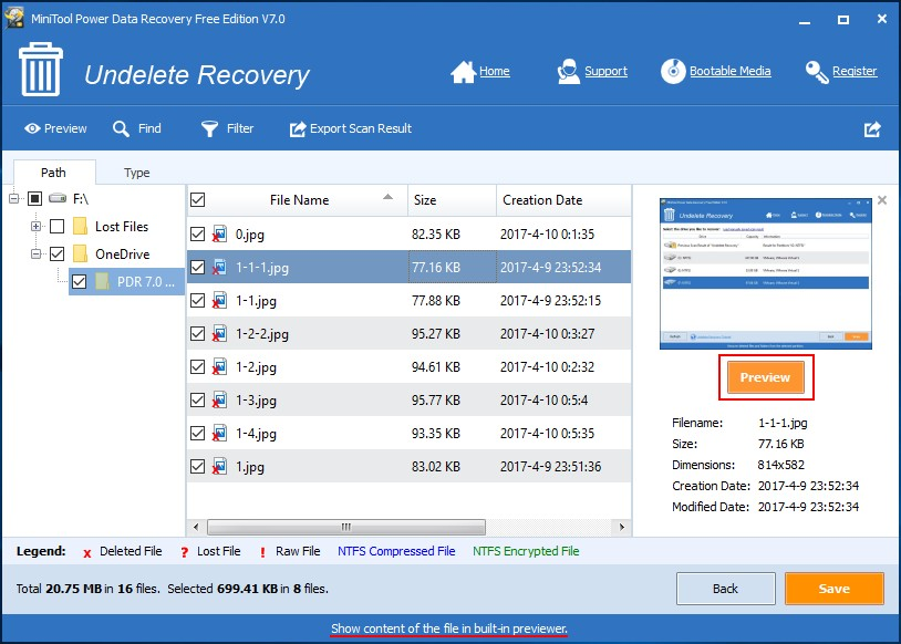 Recover permanently deleted pictures from OneDrive 5