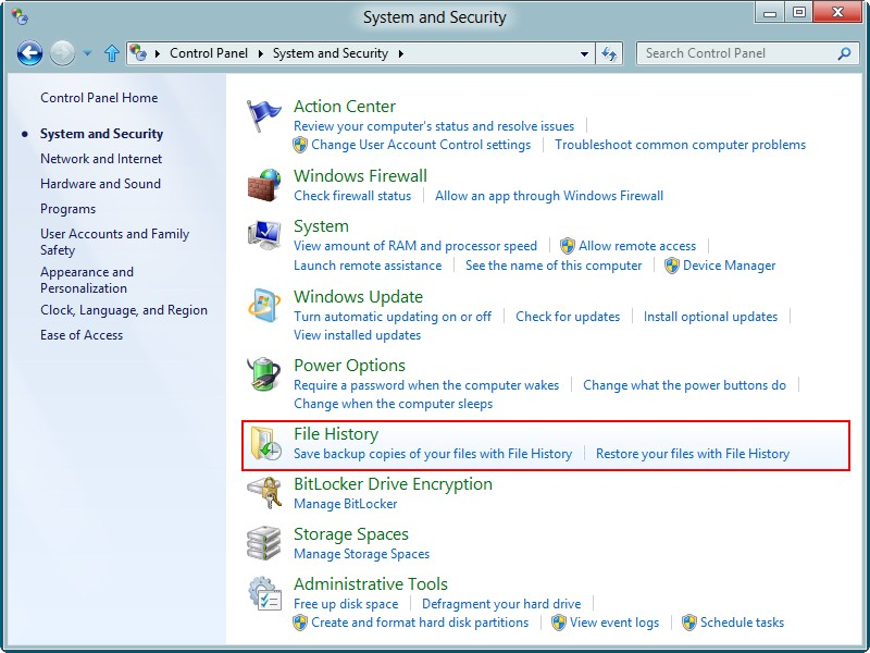 Recover data from a Windows 8 hard drive 11
