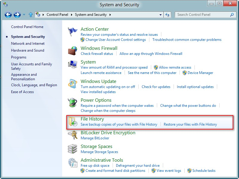 Recover data from a Windows 8 hard drive 2