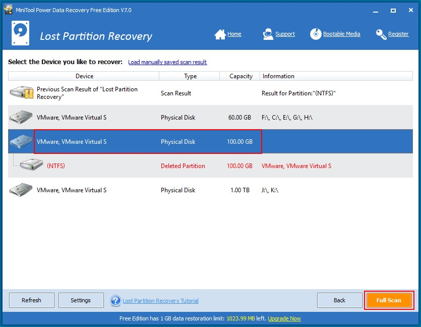 Recover data from a Windows 8 hard drive 7