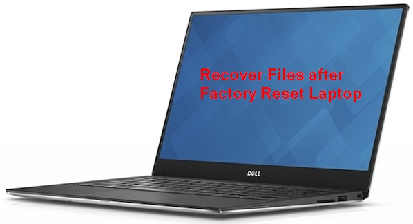 Recover files after factory reset 1