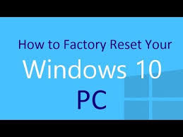 Recover files after factory reset 10