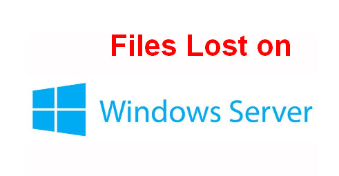 Recover lost files Windows Server 1