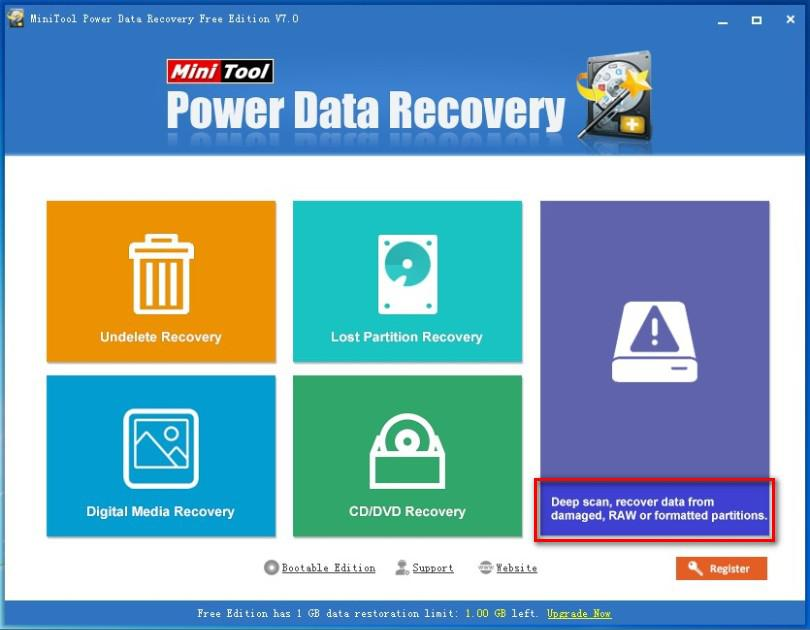 Corrupted data recovery software 2