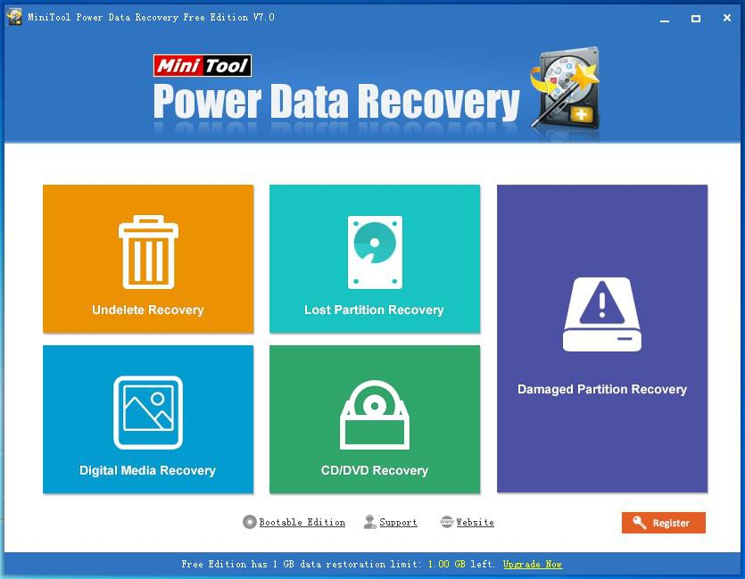 Corrupted data recovery software 1