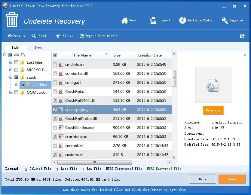 Data recovery software for Windows 10 8