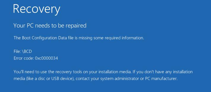Recover data back after OS crashed 9