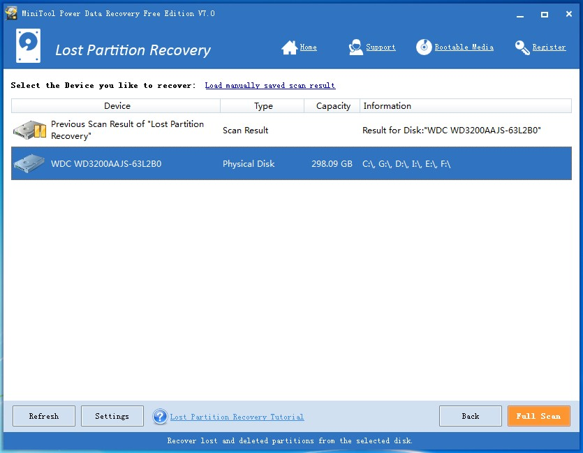 Lost Partition Recovery 9