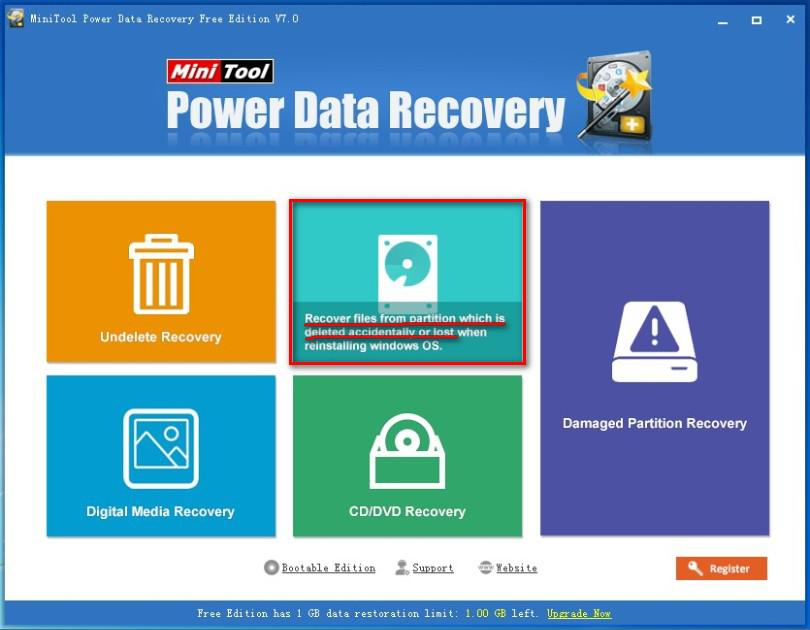 Recover data from hard drive 6