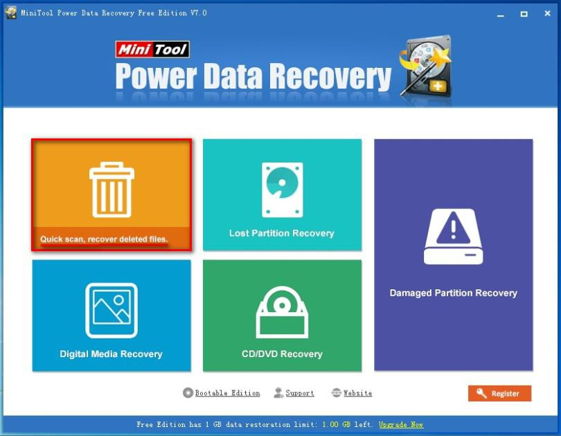 Recover data from hard drive 7