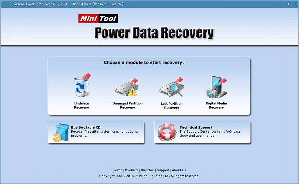 Damaged partition recovery 7