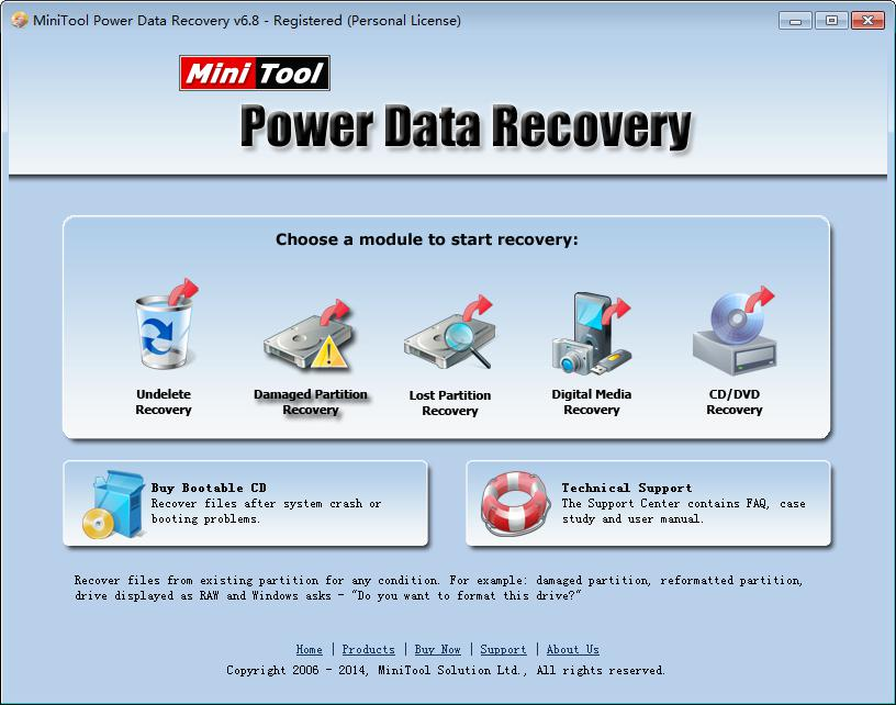 Damaged partition recovery 8