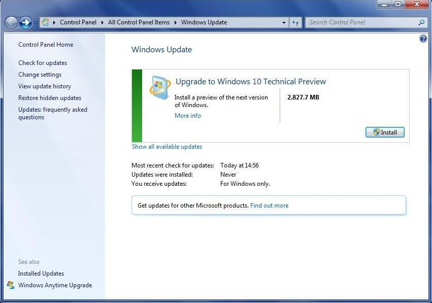 Recover data after system upgrade to Windows 10 3