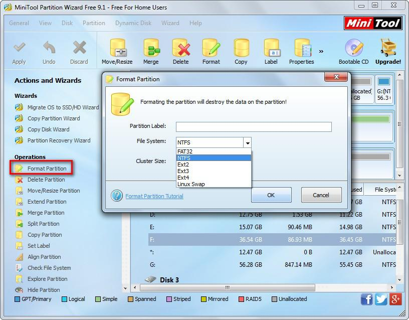 Recover files from formatted hard drive 9