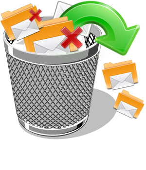 Recovering deleted emails 1