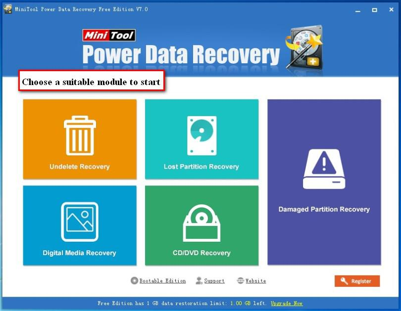 SanDisk SD card recovery 6