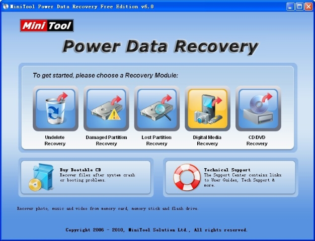 How to recover photos from memory stick?