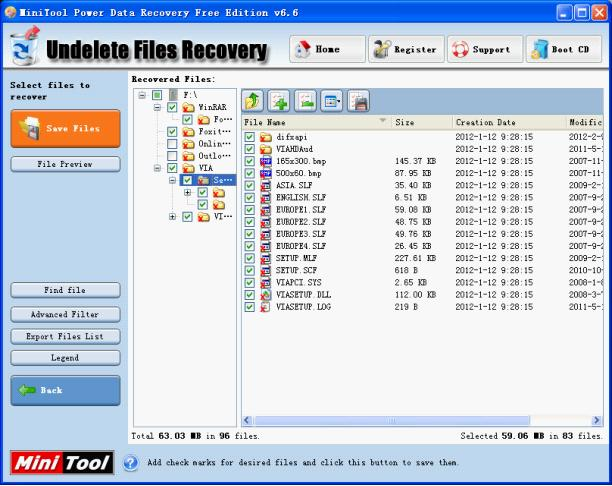 Files Recovery Tool