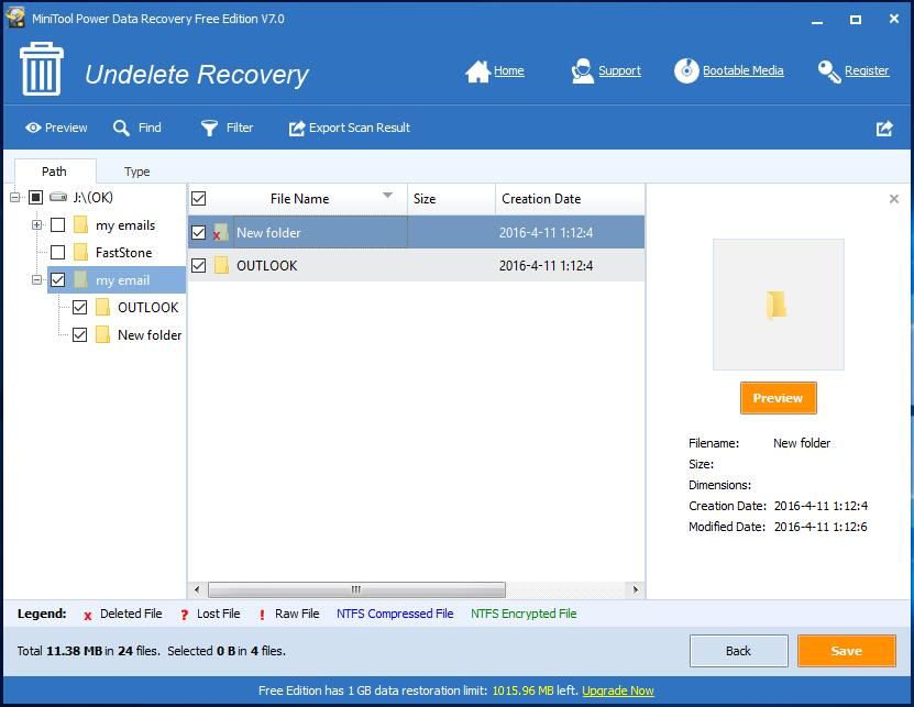 Email recovery software 4