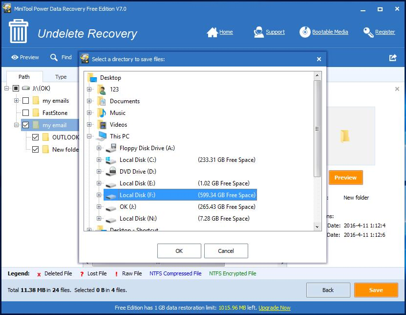 Email recovery software 5