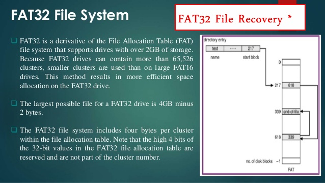 FAT32 file recovery 1