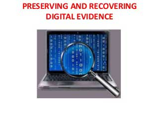 Forensic data recovery 2