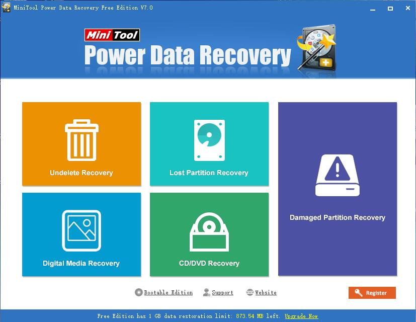 power data recovery interface