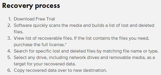 Ontrack data recovery 3