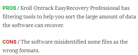 Ontrack data recovery 4