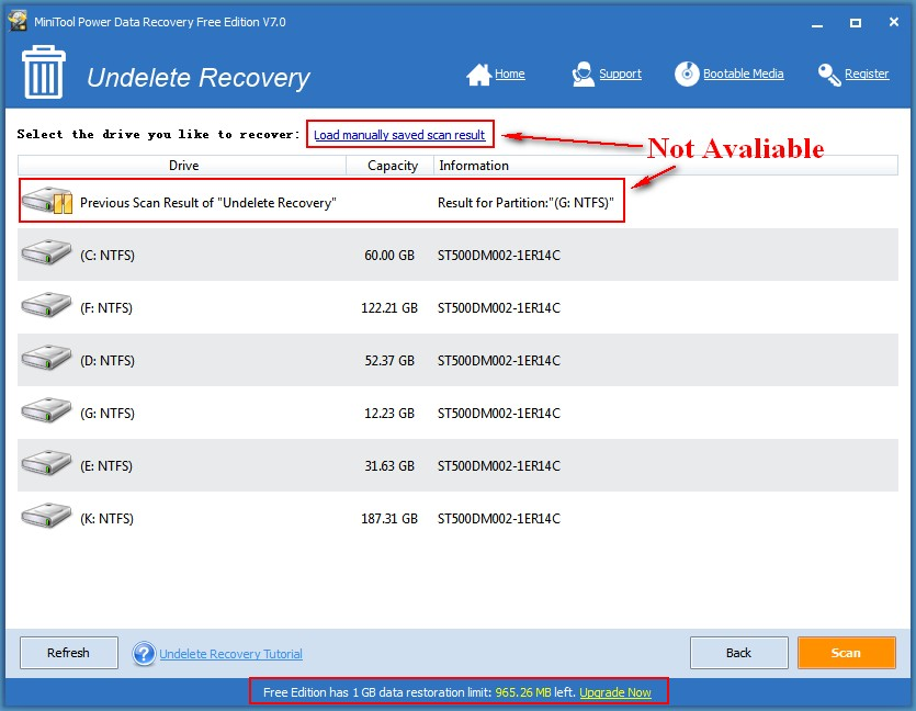 Ontrack data recovery 8