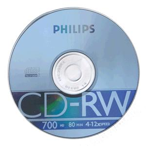 How to overwrite a rewritable cd recording