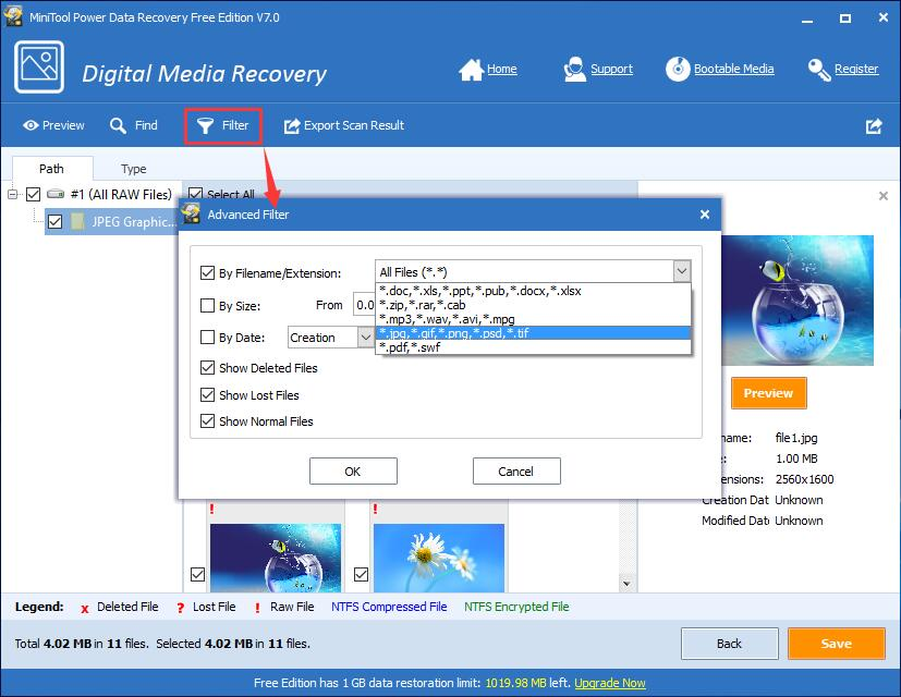 Lost memory stick - can i still get files?