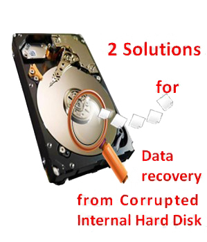 Data recovery from corrupted internal hard disk 3