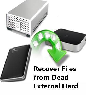 Recover files from dead external hard drive 1