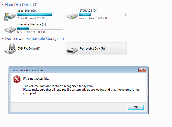 Free USB data recovery 4