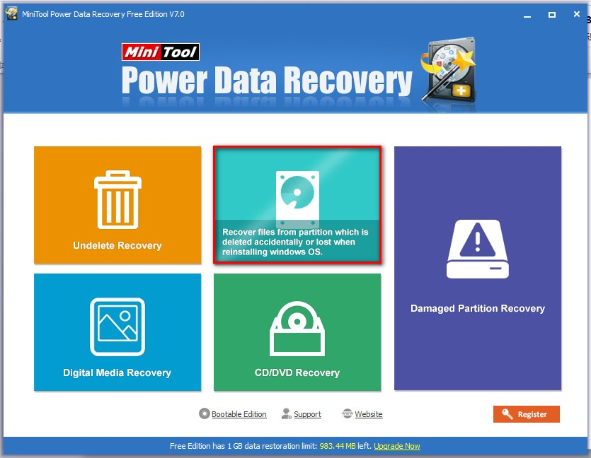 Recover data lost by DiskPart clean 2