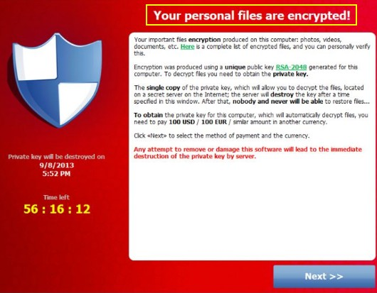 Recover files from ransomware 6