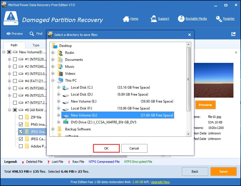 Free partition recovery software to recover deleted/lost, raw.