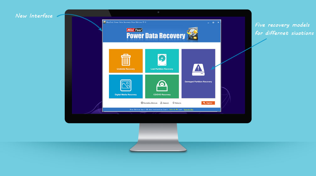 minitool data recovery 7.0 download